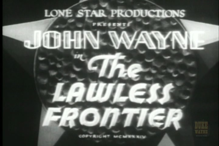 The Lawless Frontier