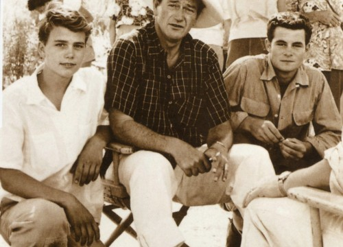 Patrick, Duke and Micheal Wayne