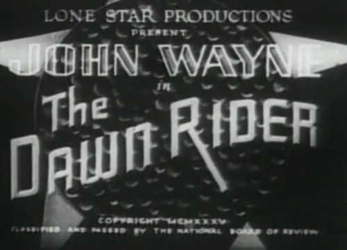 The Dawn Riders