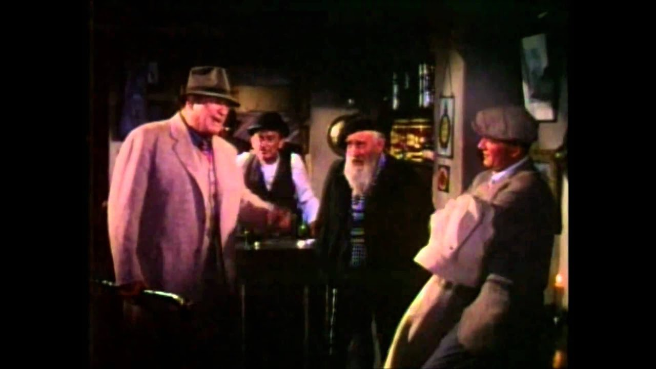 "The Pub Scene In ""The Quiet Man"""