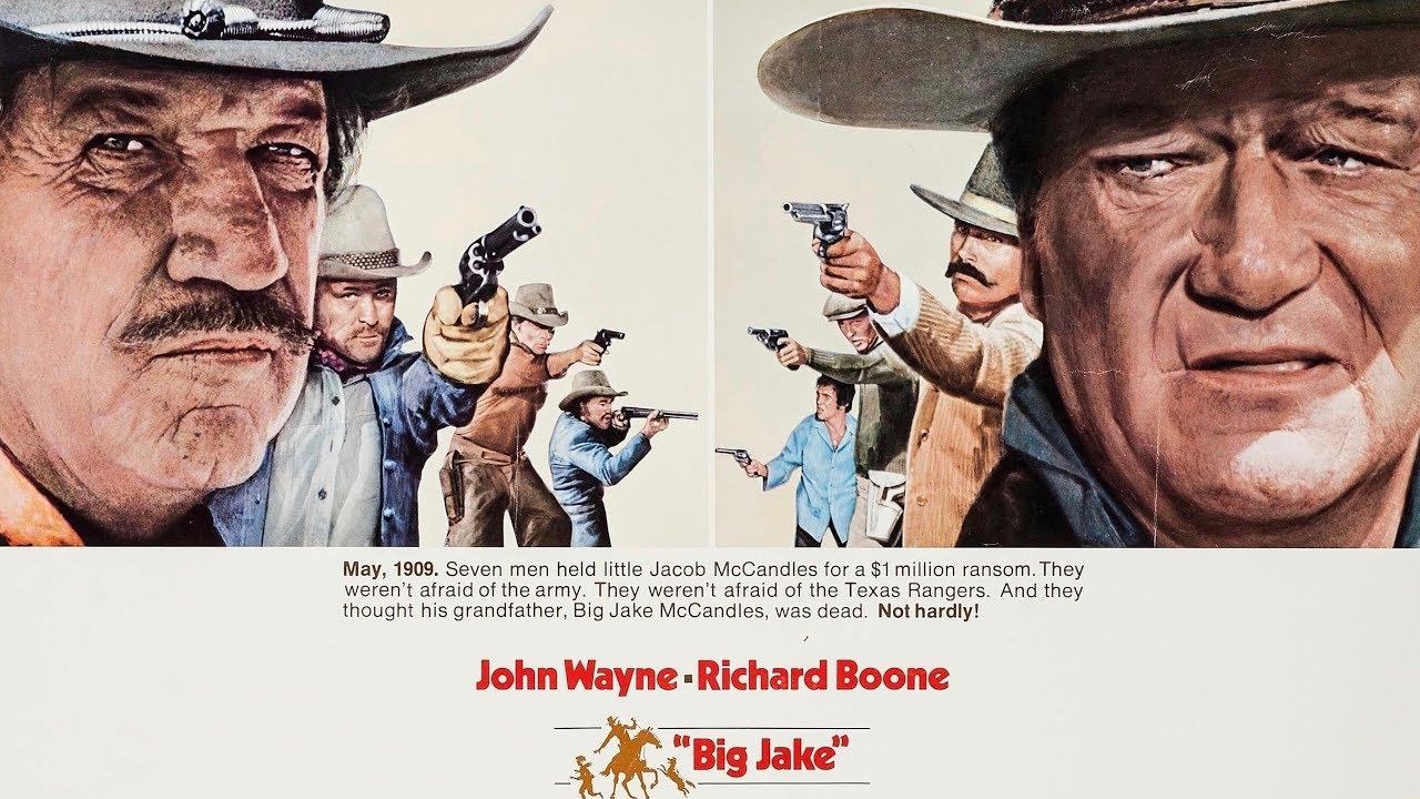 """Big Jake"" John Wayne memories with co-star Chris Mitchum A WORD ON WESTERNS"