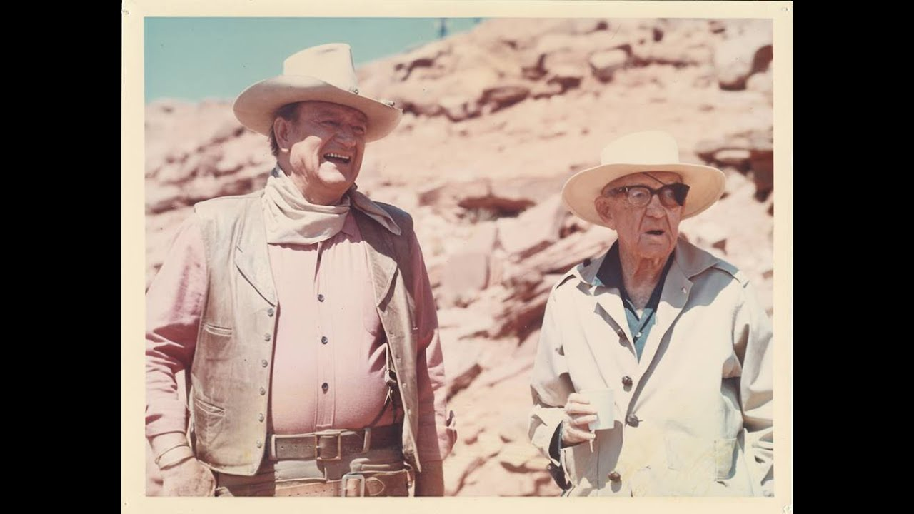 """I watched John Wayne cry at John Ford's funeral,"" with author Michael Blake on A WORD ON WESTERNS"