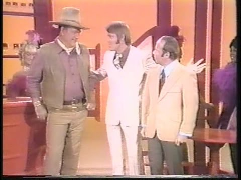 Glen, John Wayne and Tim Conway - The Glen Campbell Goodtime Hour (14 Sept 1971) - Comedy Skit