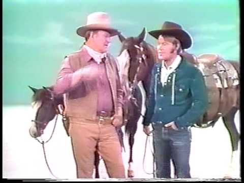 Glen & John Wayne - The Glen Campbell Goodtime Hour (14 Sept 1971) - John Wayne's Career
