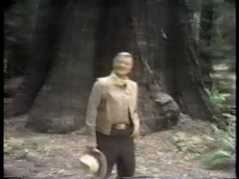 John Wayne Great Western Commercial 1978