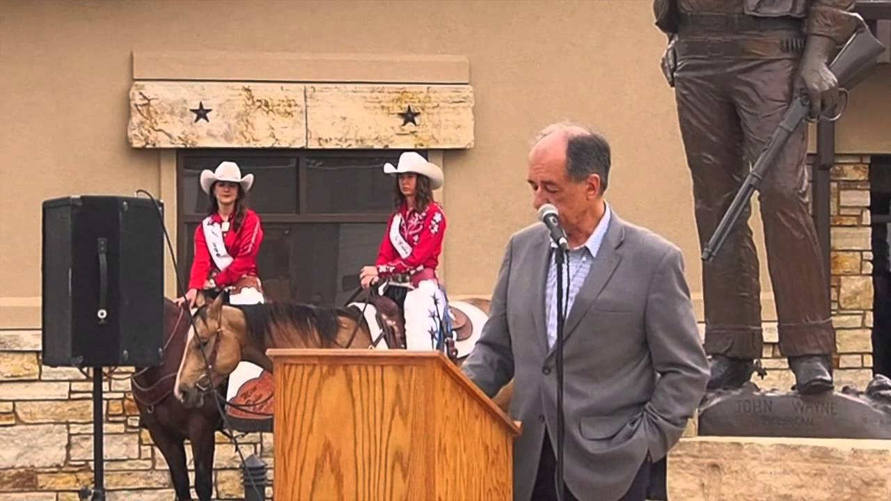 John Wayne birthplace museum grand opening keynote speech