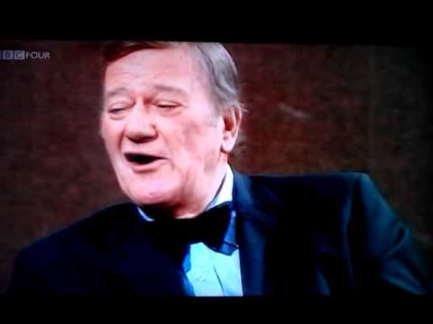 Rare John Wayne 1974 interview