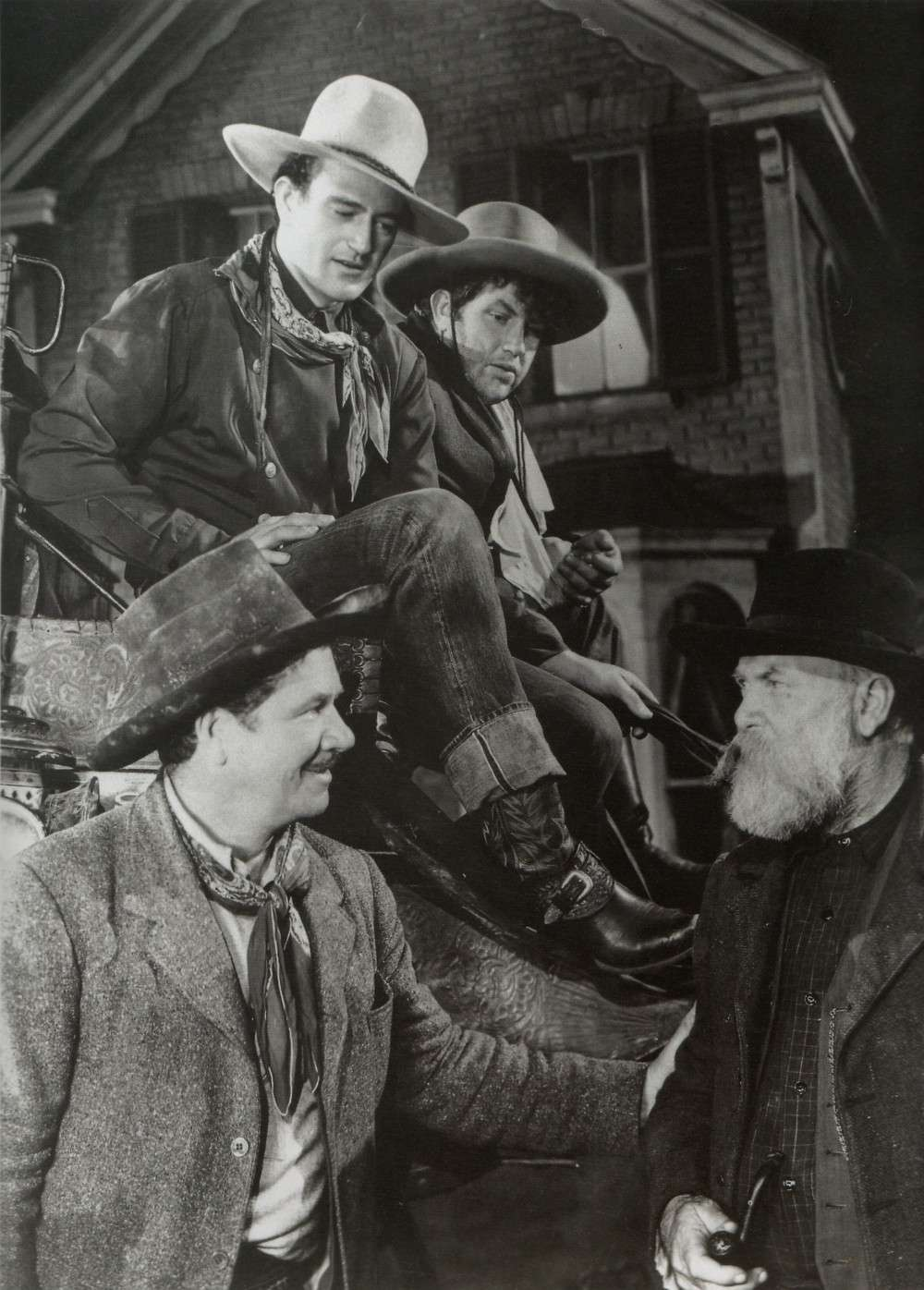 """stagecoach the film Stagecoach, american western film, released in 1939, that is a classic of the genre, widely considered to be the first """"adult"""" western one of director john ford 's."""